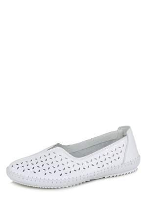 Эспадрильи женские Alessio Nesca Comfort MYZ20S-105 белые 36 RU