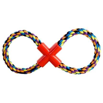 Грейфер для собак Triol Веревка-восьмерка, разноцветный, 27 см
