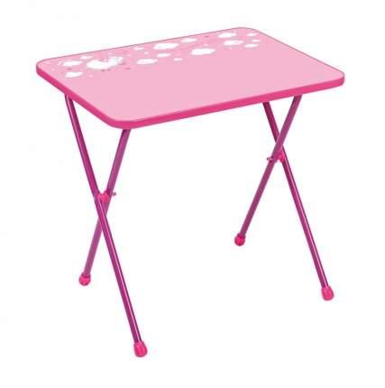 Стол детский складной Nika Kids Алина 2 Розовый