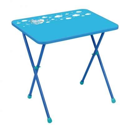 Стол детский складной Nika Kids Алина 2 Голубой