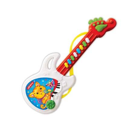 Гитара веселая Азбукварик Красная