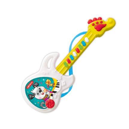 Гитара веселая Азбукварик Желтая
