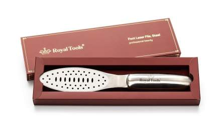 Стальная педикюрная терка Royal Tools премиум для ухода за кожей стоп