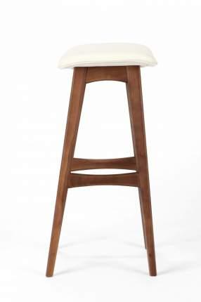 Барный стул Cosmo Allegra 77 BS7280B, орех/белый