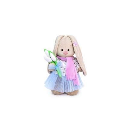 Мягкая игрушка BUDI BASA Зайка Ми с белыми тюльпанами малый