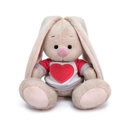 Мягкая игрушка BUDI BASA Зайка Ми в белой толстовке с сердцем малыш