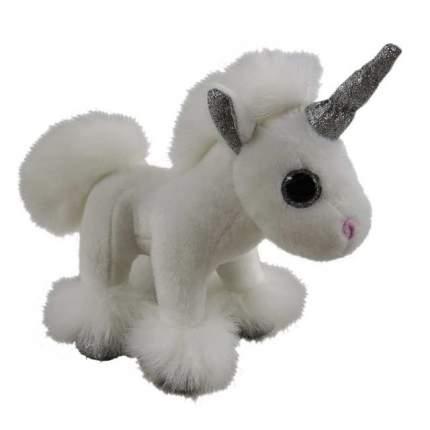 Мягкая игрушка Единорог белый 17см