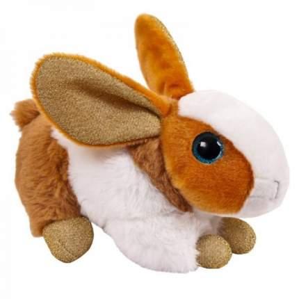 Мягкая игрушка Abtoys Кролик коричневый, 15см