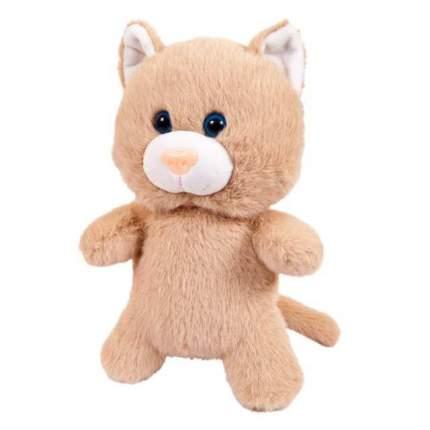 Мягкая игрушка Abtoys Флэтси. Кот бежевый, 24 см.