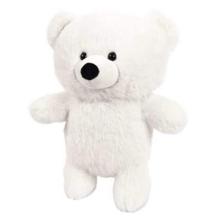 Мягкая игрушка Abtoys Флэтси. Медведь белый, 24см.
