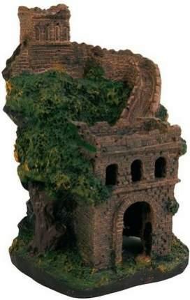 Грот для аквариума TRIXIE Castle Wall Сторожевая башня, полиэфирная смола, 9,5х9,5х13,5 см