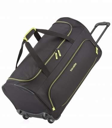 Дорожная сумка Travelite Basics Fresh Wheeled Duffle black 36 x 71 x 35 см