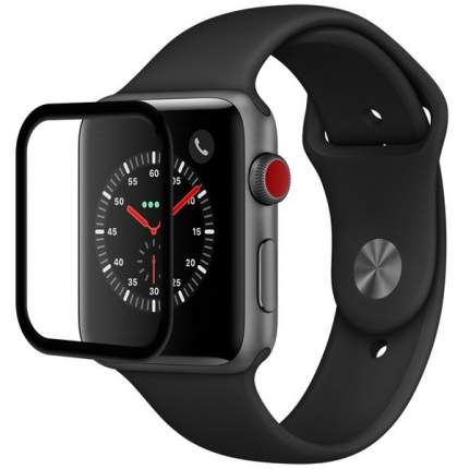Защитное стекло Krutoff Full Glue 3D для Apple Watch 1/2/3 (42mm)