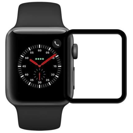 Защитное стекло Krutoff Full Glue 3D для Apple Watch 1/2/3 (38mm)