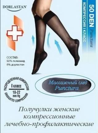 Гольфы женские лечебно-профилактические Punctura 50 den 1 класс черные р.1