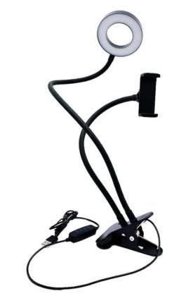 Кольцевая лампа Professional Live Stream 9 см (с держателем на прищепке)