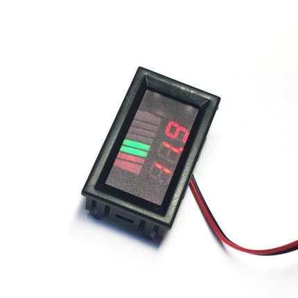Индикатор зарядки аккумулятора Espada E-IP12V8 для 12В, 8 делений, отображение в Вольтах