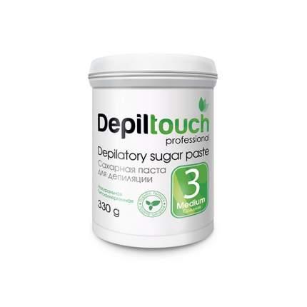 Сахарная паста для депиляции Depiltouch Depilatory Sugar Paste Medium №3 средняя, 330 гр