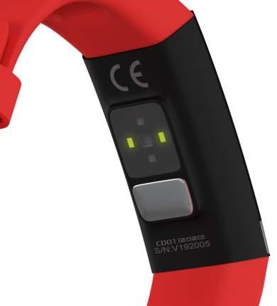 Фитнес браслет GSMIN CD01 (2020) с измерением давления, пульса и ЭКГ (Красный)