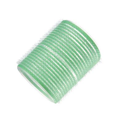 Набор бигуди-липучек Dewal Beauty диаметр 48 мм, длина 63 мм (10 штук) зеленые