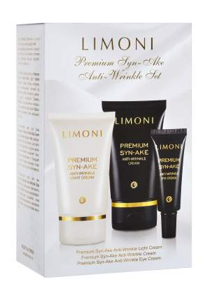 Набор средств по уходу за лицом Limoni Premium Syn-Ake Anti-Wrinkle Care Set 225 гр