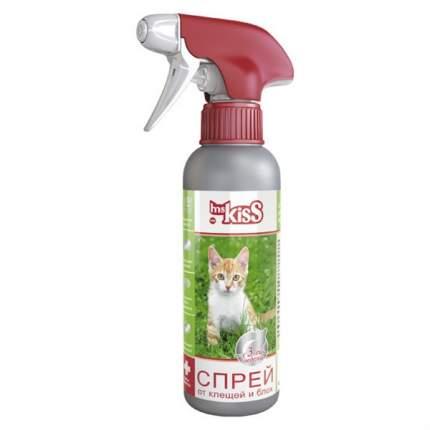 Спрей для кошек против блох, вшей, власоедов, глистов, комаров, мух Ms. Kiss, 200 мл
