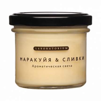 """Свеча ароматическая """"Маракуйя-Сливки"""" Laboratorium 100 мл"""