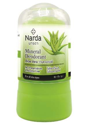 Дезодорант NARDA кристаллический Алоэ Вера 80 гр