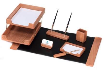 Настольный набор Good Sunrise K7D-35A светло-коричневый 7 предметов