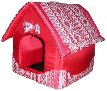 Домик для кошек и собак DOGMAN Будка малая (микс), в ассортименте, 30x30x40см