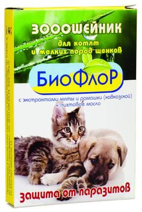 Ошейник для котят и мелких собак против блох БиоФлор в ассортименте, 30 см