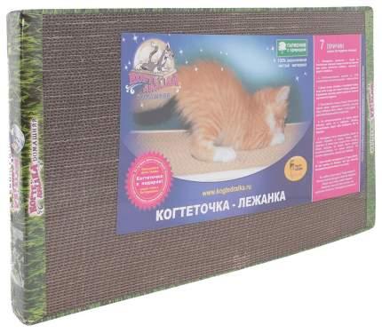 Когтеточка Когтедралка Домашняя, большая, с кошачьей мятой, 56х30х3,5 см