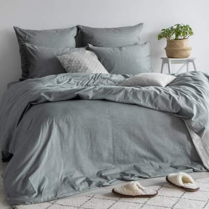 Комплект постельного белья Absolut семейный Silver