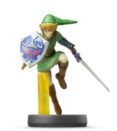 Фигурка Amiibo Линк (коллекция Super Smash Bros.)