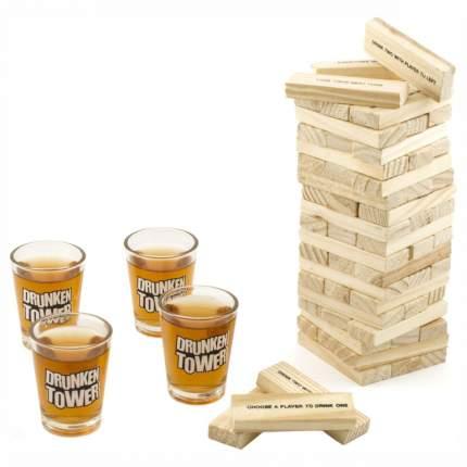 Алкогольная настольная игра «Пьяная башня», Бух и Бах BB-GAME-02