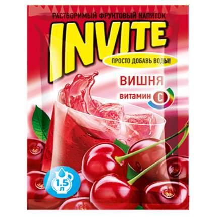 Напиток Invite вишня растворимый