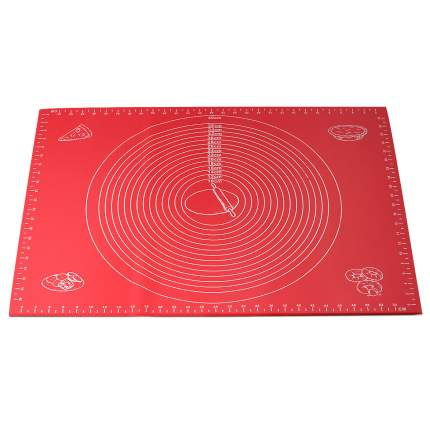 Коврик силиконовый 60*45 см для раскатки теста и выпечки