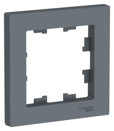 Рамка Schneider Electric AtlasDesign 1-ая Грифель