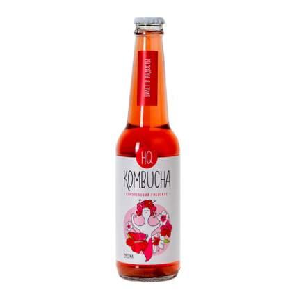 Напиток безалкогольный HQ Kombucha королевский гибискус