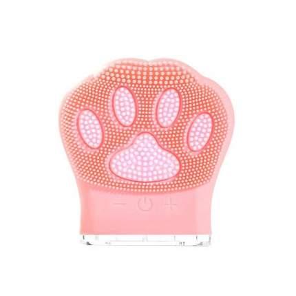 """Очищающая щетка для лица """"Кошачья лапка"""" Meiu Facial Cleansing Brush Cat Claw (Розовый)"""