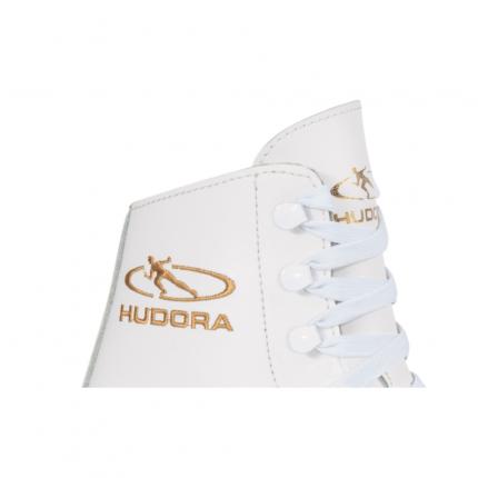 Коньки фигурные Hudora Laura, white, 40 RU