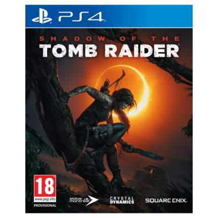Игра Shadow of the Tomb Raider для PlayStation 4