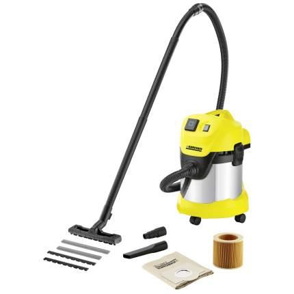 Строительный пылесос Karcher  WD 3 P Premium Yellow 1.629-891.0