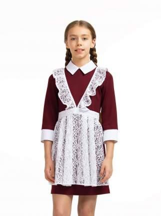 Фартук для девочек SMENA цв.белый 10364 р.140/68