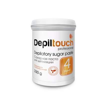 Сахарная паста для депиляции Depiltouch Depilatory Sugar Paste Hard №4 плотная, 330 гр