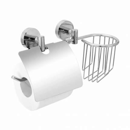 """Держатель для туалетной бумаги и освежителя воздуха с двумя крепежами Fora """"Long"""""""