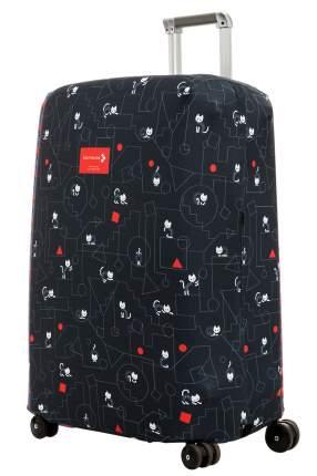 Чехол для чемодана Routemark Коты и порядок ART.LEBEDEV SP310 L/XL