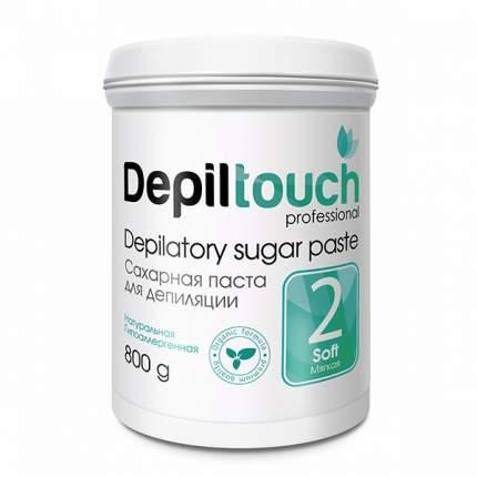 Сахарная паста для депиляции Depiltouch Depilatory Sugar Paste Soft №2 мягкая, 800 гр