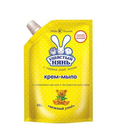Жидкое крем-мыло Ушастый нянь Нежный уход, 500 мл