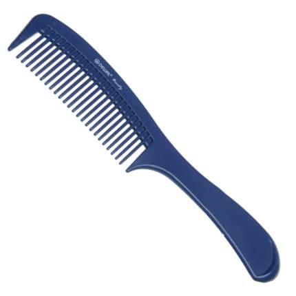 Расческа Dewal Beauty с ручкой синяя, 22 см